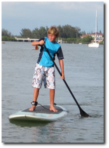 Kid-Paddle Boarding